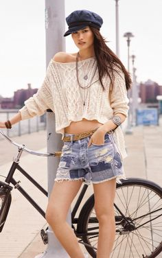 Patch Work Denim Shorts: Frayed hems, chambray and a relaxed fit make the Prineville cut offs from Denim & Supply Ralph Lauren look like old favorites.