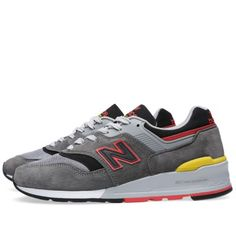 New Balance M997HL 'Catcher in the Rye' - Made in the USA (Grey & Red)