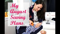 Thank YOU for watching - this video is about my ambitios August sewing plans! ALL FREE pattern resources in the info box below: ✂️ Think Pink Cardigan - http. Pink Cardigan, How To Plan, How To Make, Free Pattern, Singer, Sewing, Dressmaking, Couture, Pink Cardigan Sweater