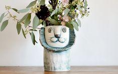 陶芸家 金子佐知恵さんの作品。 どれもかわいいですね。。 ▽ハナライオン ▽ゾウ ▽くさ吹きクジラ ▽ヒツジ  … <a href=