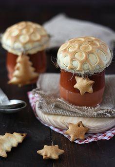 crema de marisco para Navidad, mushroom top