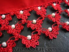 #turkish oya #beaded oya