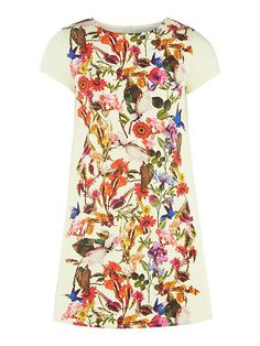 13109b14 Girls' Lilac Floral Dress | Fashion for your Tween Fashionista | Ted ...