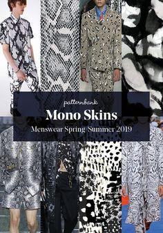 Menswear Spring/Summer 2019 – Print and Pattern Trend Hightlights - Moda Femminile Mode 2018 Trends, Fashion 2018 Trends, Spring Fashion Trends, Fashion Fall, Fashion Boots, High End Fashion, Trendy Fashion, Fashion Tips, Fashion Design