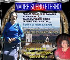 ANTOLOGIA  DEL  POETA  VICENTE  DOMINGUEZ  GARROCHENA: MADRE  SUEÑO  ETERNO