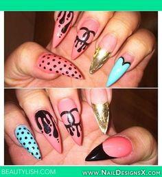 chanel mix nail art » Nail Designs & Nail Art