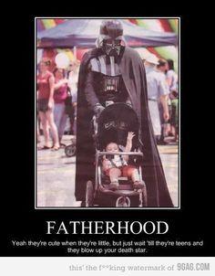 'Luke, I AM your Father' (Future Shane and baby Luke)