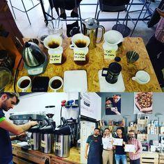 Ieri si è comcluso con grande successo il corso Brewing Intermedio con certificazione. Complimenti ai bravissimi partecipanti!! #CoffeeTrainingAcademy #coffee #Verona #coffeelover @Scae_community