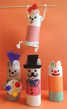 circus paper tube - Google zoeken