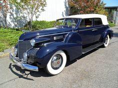 1940 Cadillac Fleetwood Convertible Sedan