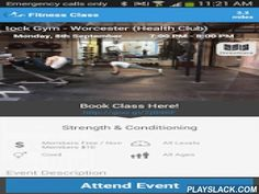 Volleyball Virtual Coach  Android App - playslack.com ,  This app is the ultimate off season training program that includes both workouts in the weight room and on the volleyball court.The app includes multiple levels that have five different workouts eac