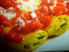 ricetta cannelloni ricotta e zucchine