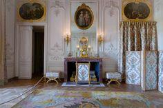 The apartments of Louis XV sisters Appartement de Mesdames, chambre de Madame Adélaïde, Château de Versailles