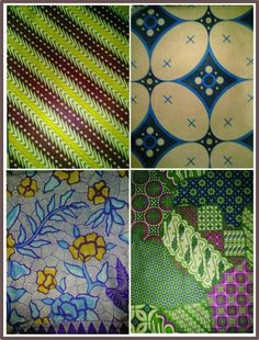 Indonesian batik patterns, I wish I could get my hands on some of these fabrics!