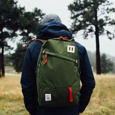 Topo Designs Daypack Olive Made in USA Backpack Bookbag