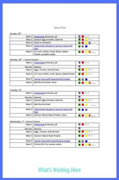 This week I'm focusing on cutting processed foods out of my diet. Check out what is on this week's menu using only whole foods. Weekly Menu Printable, Weekly Menu Template, Meal Planning Printable, Weekly Menu Boards, Weekly Menu Planning, Beachbody Meal Plan, 80 Day Obsession, Spinach Egg, Food Out
