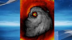 As if a category 4 hurricane with 140+ mile per hour winds wasn't frightening enough, one satellite image managed to make it even more chilling.Stu Ostro -- a senior meteorologist for the Weather Channel -- tweeted a photo of Hurricane Matthew where the pa
