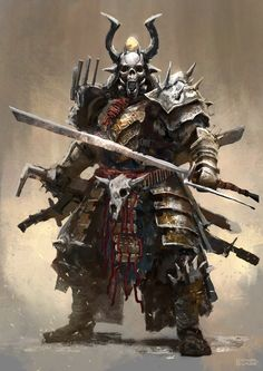 "ceptart: ""Post Apocalyptic Samurai by Mac-tire """