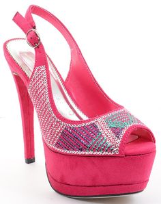 18a3228dd71 Sequin Peep-toe Platform Slingback Stiletto Heels Fourever Funky