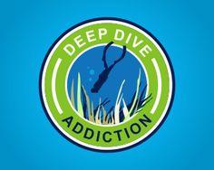 Deep Dive Addiction Logo design - Dive Club logo. Price $250.00  http://brandcrowd.com/logo-design/details/72445