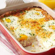 Taste of Home (December 2013): Ham, Egg & Cheese Casserole