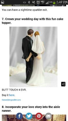 Butt touch forever