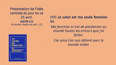 Leçon 115 - Énoncé et pratique by Pierrot Caron via slideshare