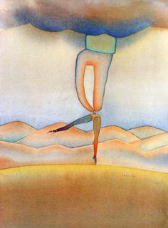 Untitled (Dancer) by Jean Michel Folon