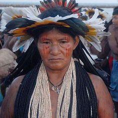 India Rikbaktsa, indígena del Brasil