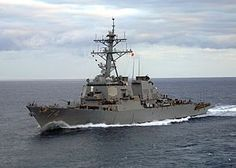 USS McFaul (DDG-74) Arleigh Burke-class guided missile destroyer named for Navy Seal Chief Petty Officer Donald L. McFaul.