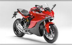 Ducati 939 Supersport, 2017, sportbikes, red ducati