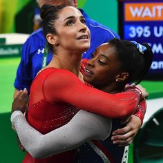 JUST IN: Simone Biles wins the gold medal in the women's individual all-around gymnastics competition at the Olympic Games - the straight gold for Team USA. (AFP/Getty) (at Rio de Janeiro, Brazil) All Around Gymnastics, Team Usa Gymnastics, Gymnastics Facts, Gymnastics Images, Gymnastics Competition, Amazing Gymnastics, Gymnastics Posters, Artistic Gymnastics, Gymnastics History