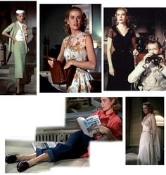 """""""Tweedland"""" The Gentlemen's club: The Grace Kelly """"Look"""" in 'Rear Window' and 'To Catch a Thief'."""