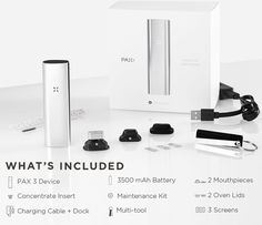 Pax 3 Vaporizer | Loose Leaf + Extract