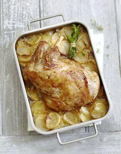 Épaule d'agneau sur lit de pommes de terre                                                                                                                                                                                 Plus