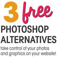 Free Photoshop Alternatives || www.eefdesigns.com