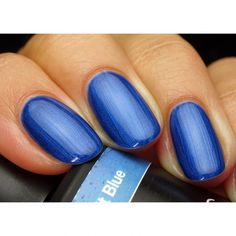 Get Pink Gellac 136 Cobalt Blue gel nail polish colour at www.pinkgellac.co.uk