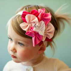 super sweet jersey headband, Em needs this one day Little Doll, My Little Girl, My Baby Girl, Baby Baby, Diy Headband, Baby Headbands, Flower Headbands, Jersey Headband, Do It Yourself Baby