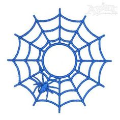 Spider Net Embroidery Designs