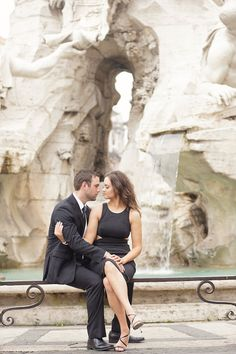 Romantic Rome Engagement Shoot | Teresa Carnuccio | In Love Italy Photography | Bridal Musings Wedding Blog 22