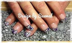 violett Nails, Painting, Beauty, Finger Nails, Beleza, Ongles, Painting Art, Nail, Paintings