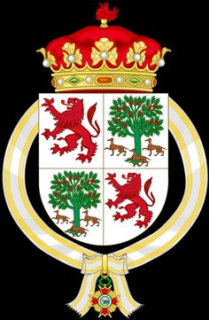 El Duque de Badajoz . 1989 - 1992 Casa Real, Flag Design, Coat Of Arms, Genealogy, Flags, Illustration, Family Shield, Spain, Duke