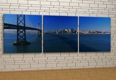 Bay Bridge in the morning - Canvas Canvas Frame, Bridge, Marvel, Outdoor Decor, Home Decor, Decoration Home, Room Decor, Bridges, Bro
