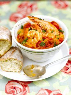 Spanish-style prawns with fennel | Jamie Oliver