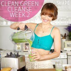 """Secret second-week plan to jumpstart weight loss, rejuvenate your health, and make """"green"""" eating a permanent part of your life!"""