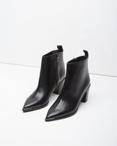 Acne Studios Boots - staple black boots for winter Ankle Booties, Bootie Boots, Shoe Boots, Shoe Bag, Women's Boots, Heeled Boots, Pointy Boots, Fall Boots, Shoe Closet