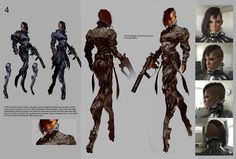 costume design community service • aniseshaw: characterdesign101: Eidos...