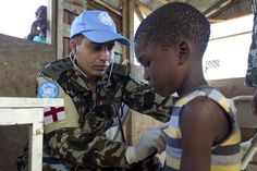 Peacekeepers Provide Medical Assistance After Tropical Storm Isaac in Haiti