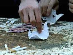 Origami from tv show: Prison Break  swan/crane/duck