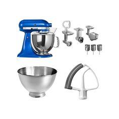 Set KitchenAid - kuchyňský robot 5KSM150PSEEB + FPPC balíček s příslušenstvím | HEJ.sk